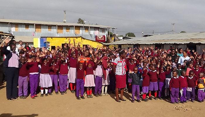 Partnerschule Slum