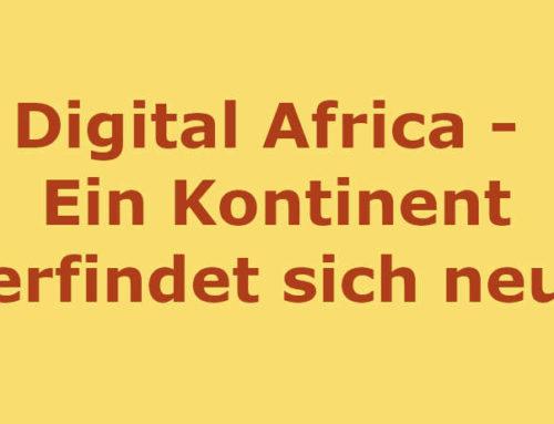 Innovationen nicht für, sondern aus Afrika