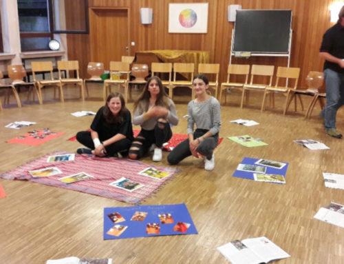Nyendo-Arbeit an der Freien Waldorfschule Frankfurt