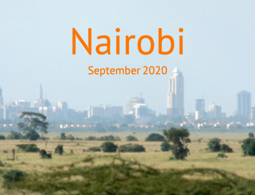 Nyendo-Report Nairobi – September 2020