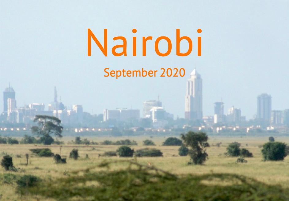 Nyendo_Report_Nairobi_September_2020_Titel