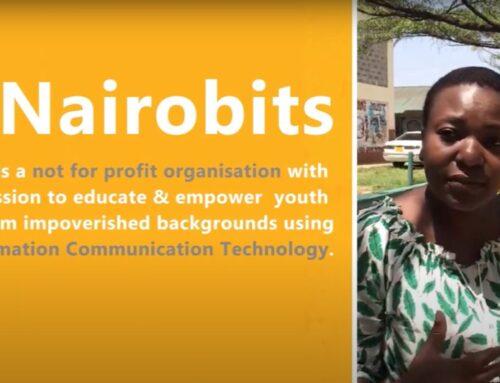 Irmgards Besuch bei Nairobits im Mukuru-Kwa-Reuben-Center