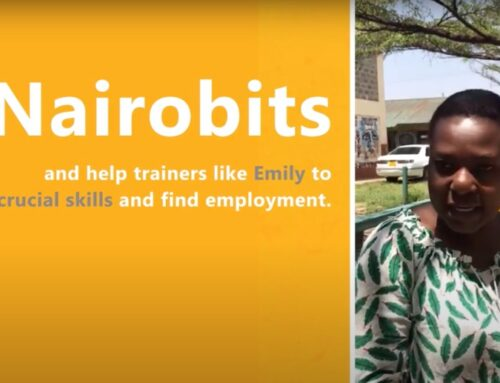 Irmgard's visit to Nairobits at the Mukuru Kwa Reuben Center