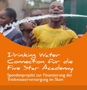 Projektbericht: Drinking water connection