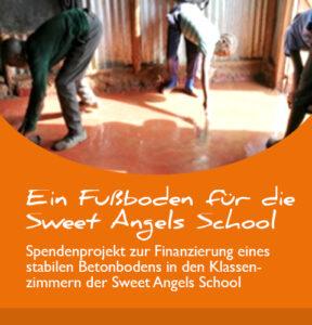 Projektbericht: Ein Fußboden für die Sweet Angels School