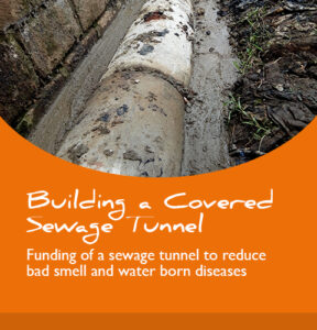 Projektbericht: Building a Covered Sewage Tunnel